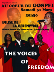 Au Coeur du Gospel avec THE VOICES OF FREEDOM