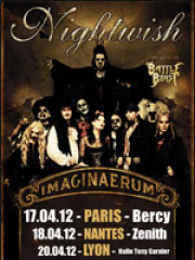NIGHTWISH - Imaginaerum world tour 2012-2013
