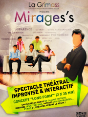 MIRAGES'S - Spectacle théâtral improvisé