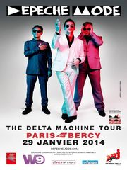 DEPECHE MODE - The Delta Machine Tour