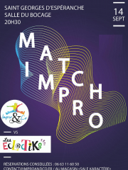 match d'improvisation 14/09