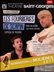 LES FOURBERIES DE SCAPIN - THEATRE SAINT GEORGES