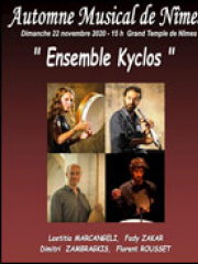 ENSEMBLE KYCLOS - GRAND TEMPLE